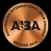 Australian International Beer Awards 2016 Bronze