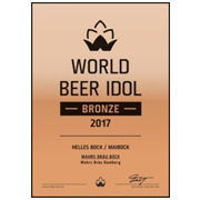 World Beer Idol 2017 Bronze