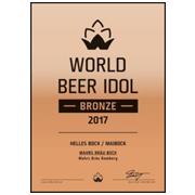 World Beer Idol 2017 Bronze
