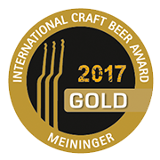 Meininger Craft Beer Award 2017 Gold