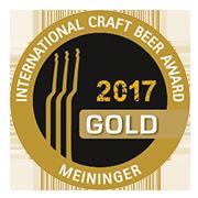 Meininger Craft Beer Award 2017 Gold