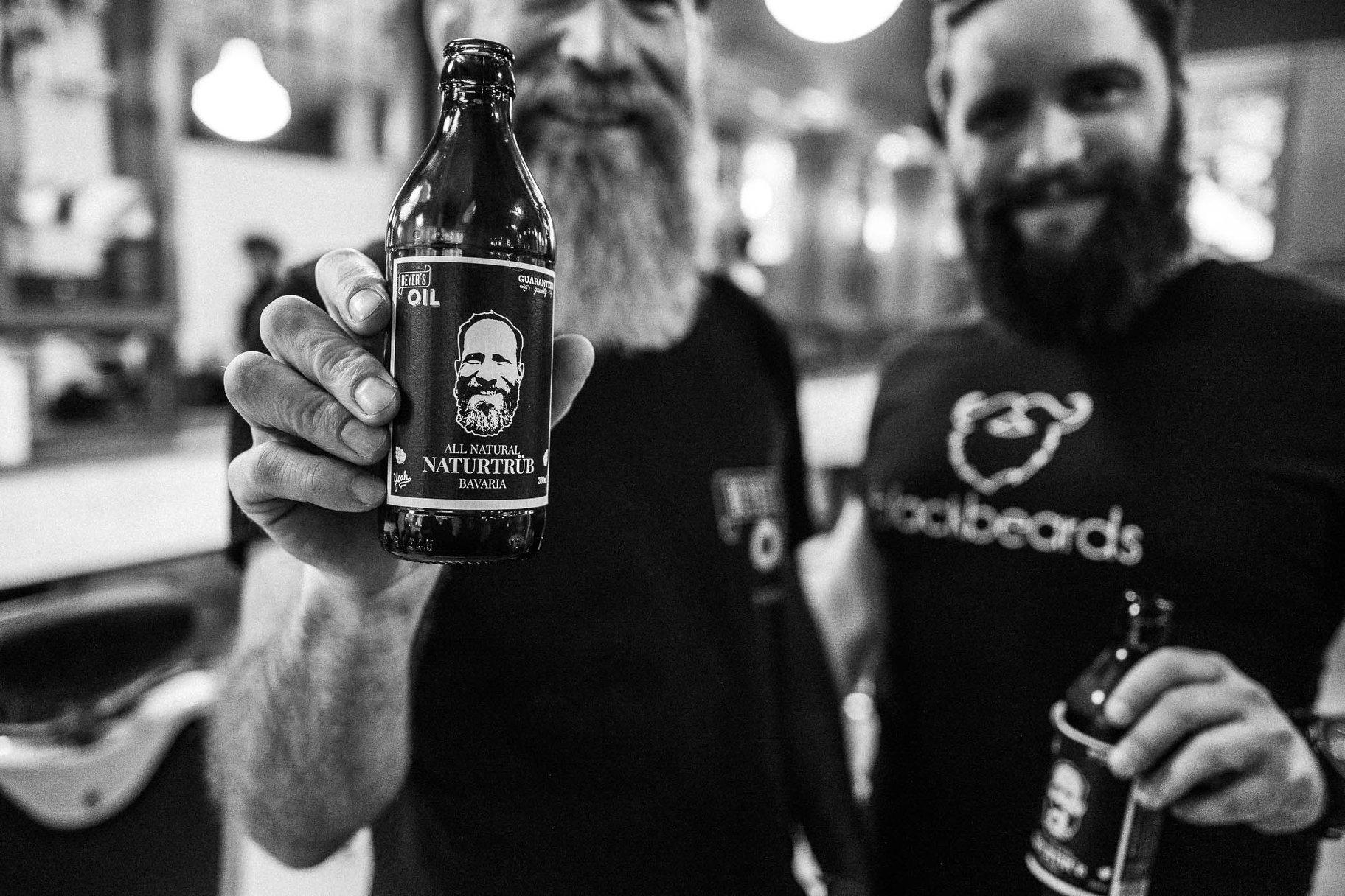 All natural – Beyer's Oil very own Mahr's Bräu beer