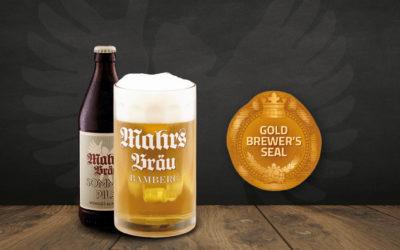 Gold für Mahrs Bräu Sommerpils