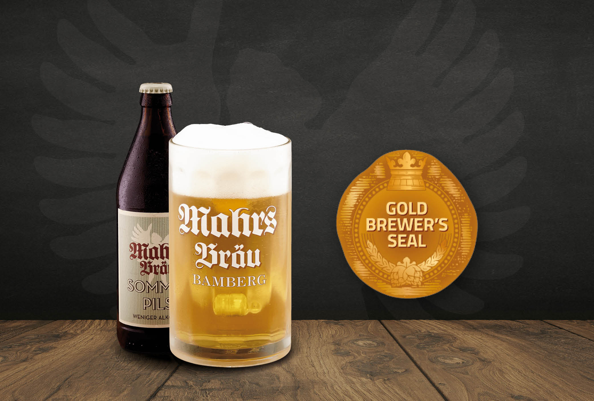 Gold for Mahr's Bräu Sommerpils