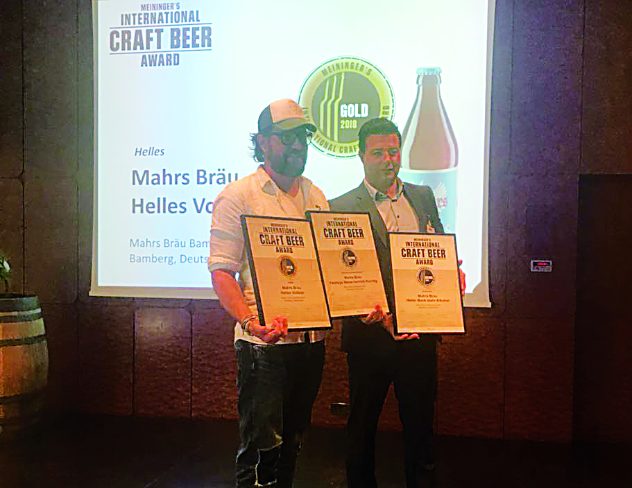 Meininger's International Craft Beer Award 2018