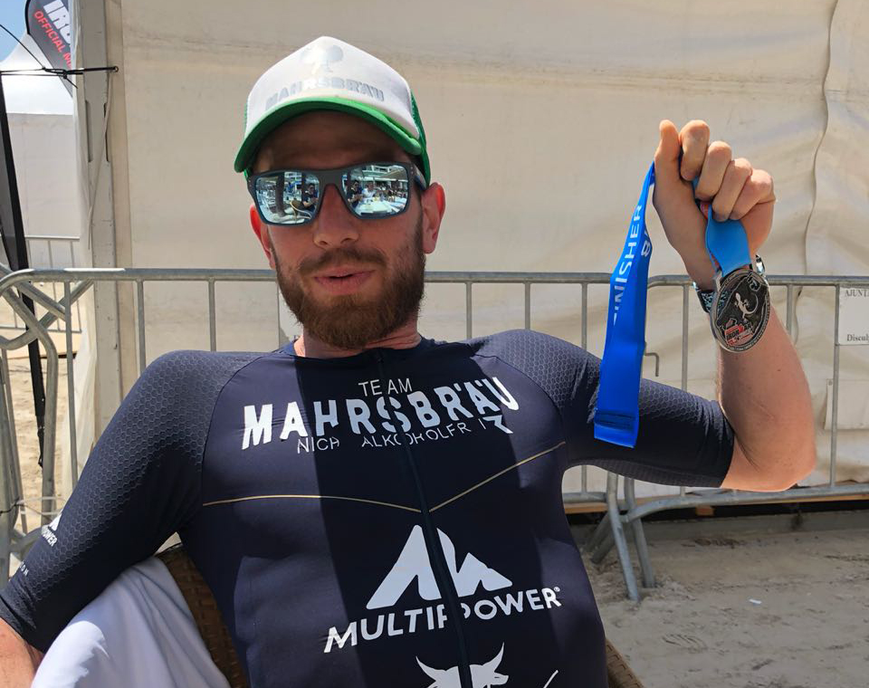 Top German Competitor in Ironman Mallorca 70.3 – Our athlete sets the bar