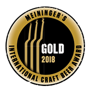 Meiningers International Craft Beer Award 2018 Gold