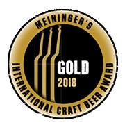 Meiningers International Craft Beer Award 2018 Gold