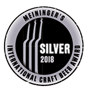 Meiningers International Craft Beer Award 2018 Silver