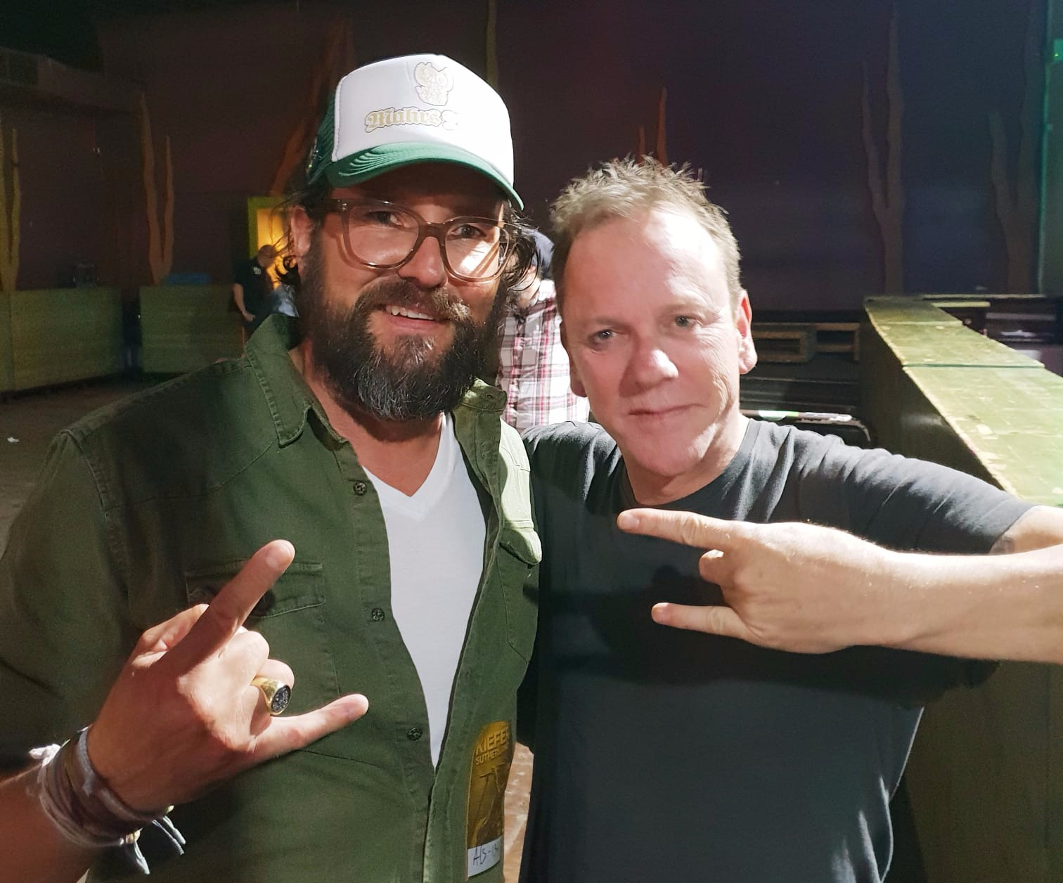 Mahr's Braü meets up with Kiefer Sutherland