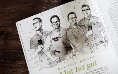 Krasses Packaging und Innovationsgeist – Mahrs Bräu im Inspirationsbuch