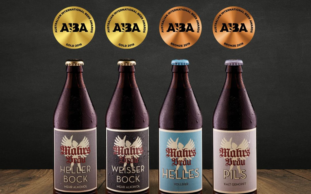 TWO GOLD & FOUR BRONZE – AUSTRALIAN INTERNATIONAL BEER AWARDS