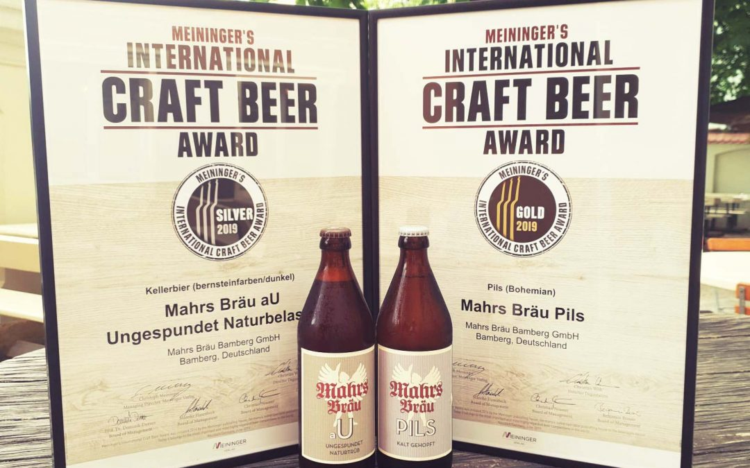 Gold and Silver at Meininger's International Craft Beer Award