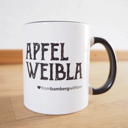 Tasse Apfelweibla