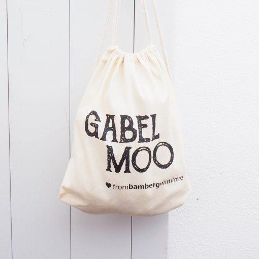 Turnbeutel Gabelmoo