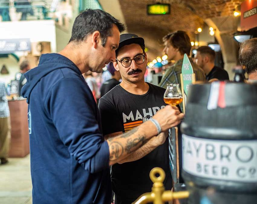 London Craft Beer Festival – Genuss in den Londoner Docklands